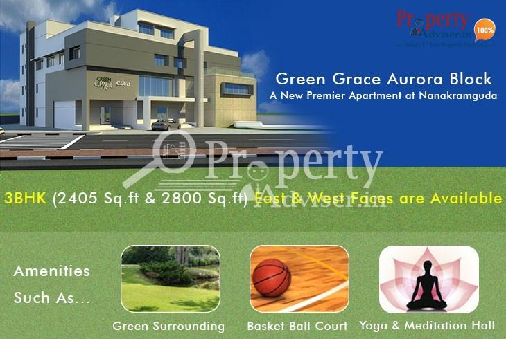 Green Grace Aurora Block - A New Premier Apartment at Nanakramguda