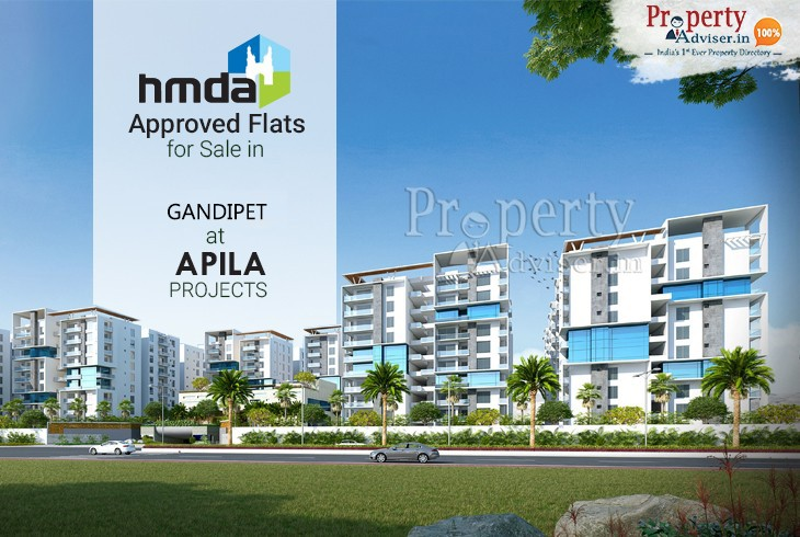 HMDA Approved Flats for Sale in gandipet at Apila by EIPL Group