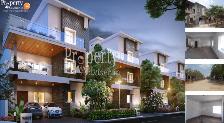 Homes for sale at PG Lake View Villas in Manikonda - 2725