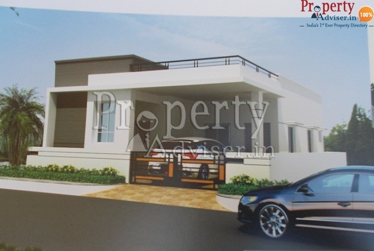 Fully Gated Independent House at Beeramguda with Pleasant Surroundings