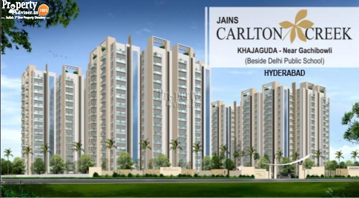 Jains Carlton Creek Block F Apartment Got a New update on 08-May-2019