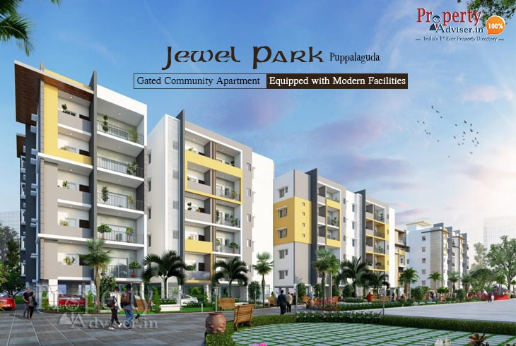 Jewel Park - Luxurious flats for sale in Puppalaguda