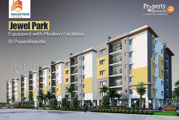 Jewel Park - Spacious Gated Community Apartment for Sale in Puppalaguda