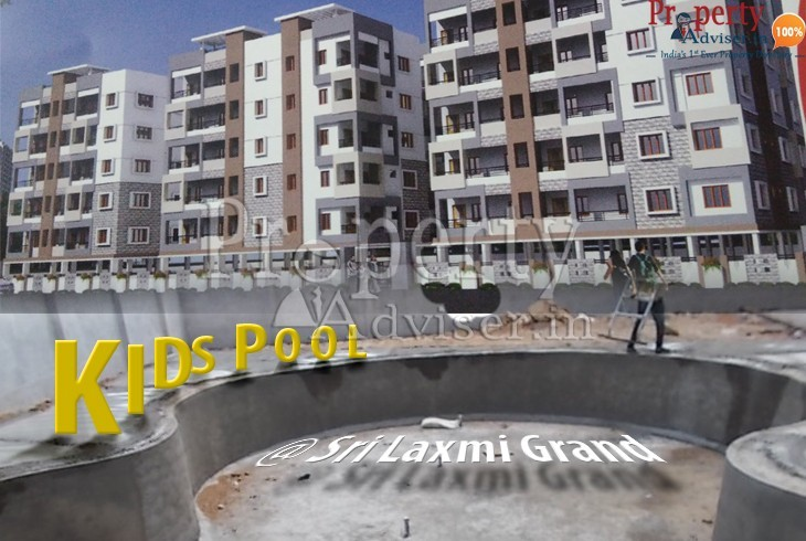 Kids Pool is Getting Ready in Sri Laxmi Grand Apartment at Pragathi Nagar