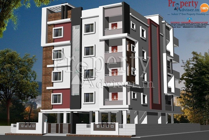 KVR Residency-2 Apartment at Hyderabad with painting work and drainage pipeline works