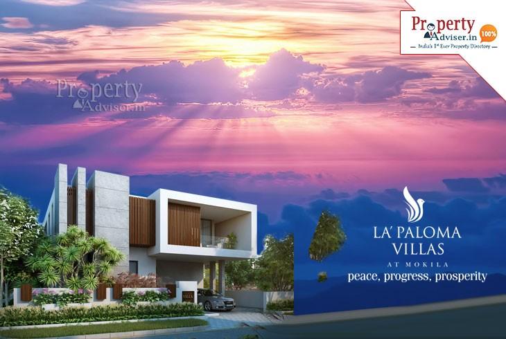 La Paloma - Luxurious Villas for sale in Mokila, Hyderabad
