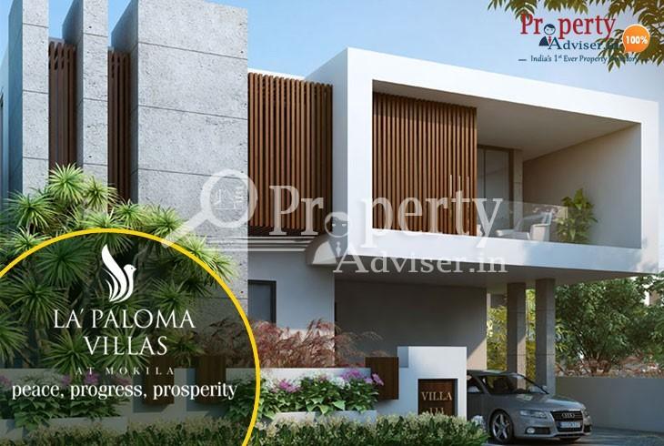 La Paloma 3BHK villas for sale in Mokila