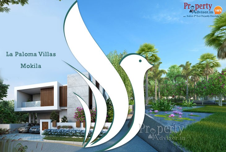 La Paloma Premium Gated Community Villas in Mokila