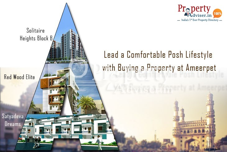 Lead a Comfortable Posh Lifestyle with Buying a Property at Ameerpet