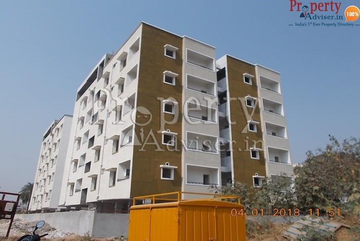 Madhavarams Block-2 apartment at Kukatpally Hyderabad completed paintings