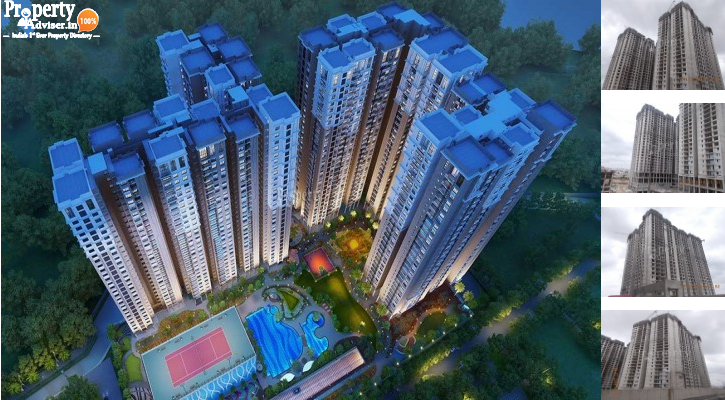 Marina Skies Tower 1 in Kukatpally updated on 11-Jun-2019 with current status