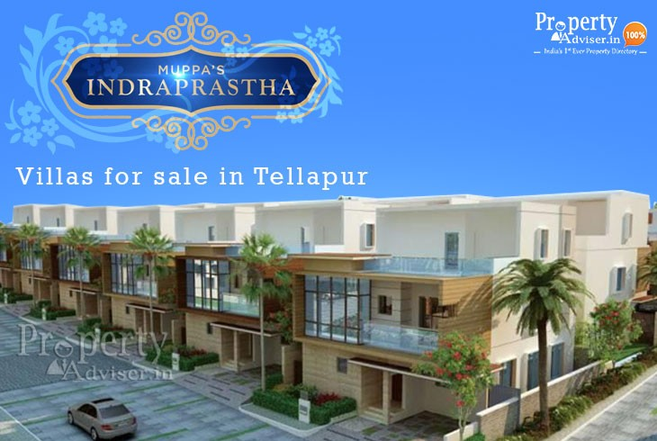 Muppas Indraprastha villas for sale in Tellapur, Hyderabad