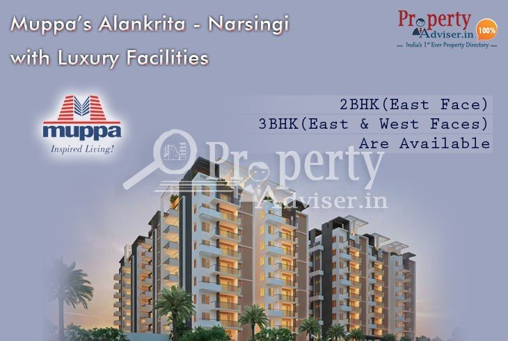 Muppas Alankrita Residential Property for Sale at Narsingi with Luxury Facilities