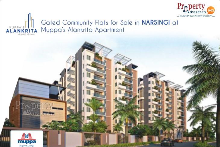 Muppas Alankrita Residential Apartments In Narsingi
