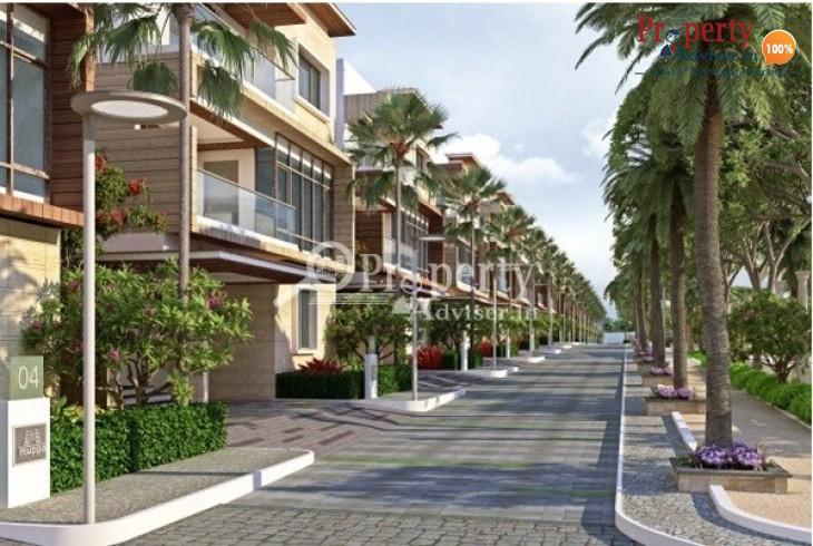 4BHK Triplex Villas for Sale in Tellapur
