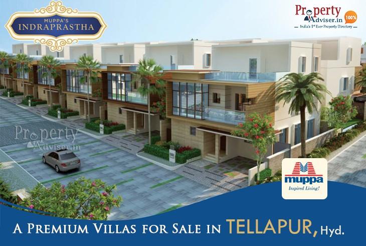 Muppas Indraprastha 4BHK Villas in Tellapur