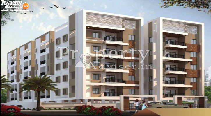 NESTCON CLR RESIDENCY Apartment for sale in Alwal - 2934