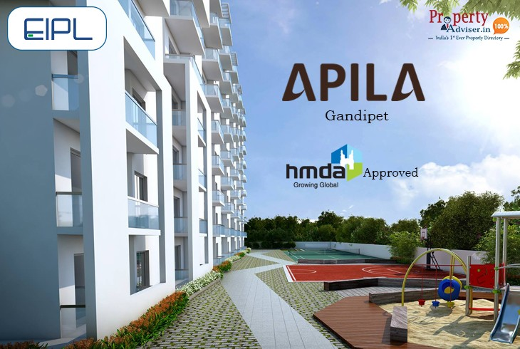 New Premium 3BHK Flats for Sale in Kokapet at Apila by EIPL