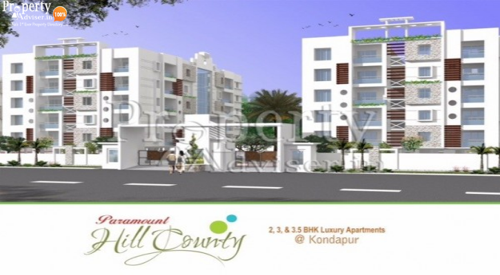 Paramount Hill County - B  in Kondapur Updated with latest info on 07-Jun-2019