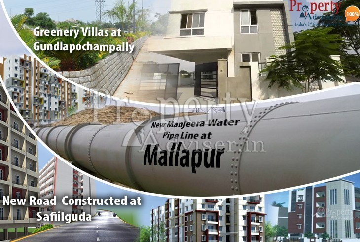 Trending News of Developments in Areas and Projects in Hyderabad