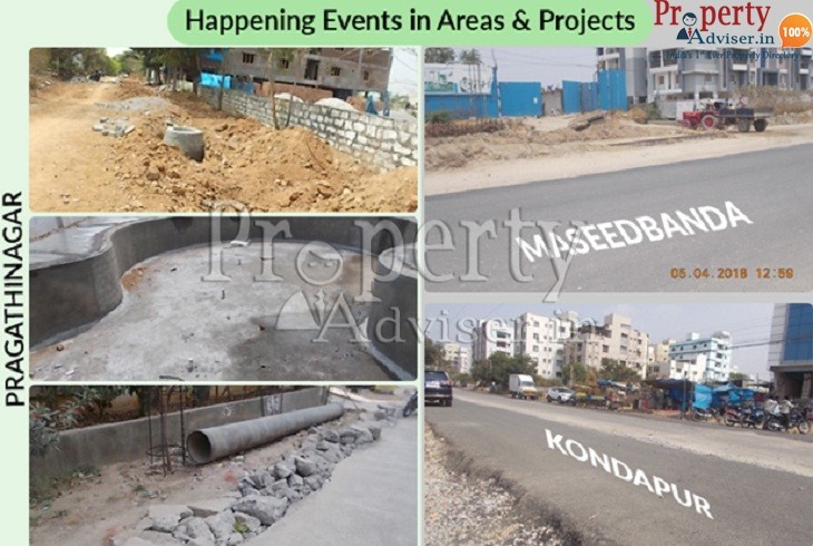 News Updates at North West and West Zone Projects in Hyderabad
