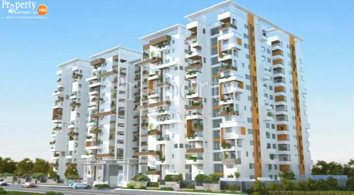 NORTH STAR DISTRICT 1 TOWER 1 in Nanakramguda updated on 19-Aug-2019 with current status