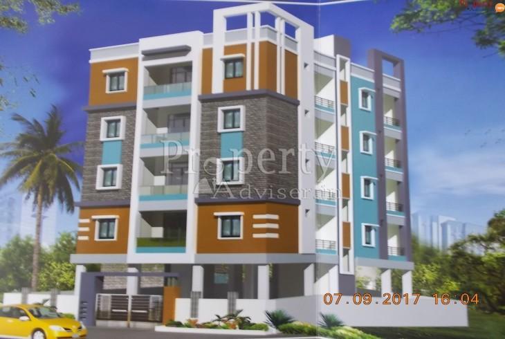 Painting work is completed in Jaanvi Sri Residency at Gajularamaram Hyderabad