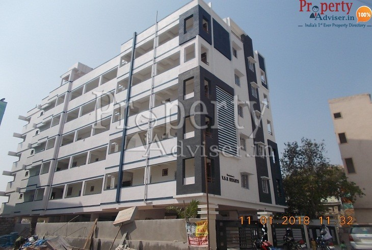 Painting Work Completed at VSR Heights Apartment Borabanda Hyderabad