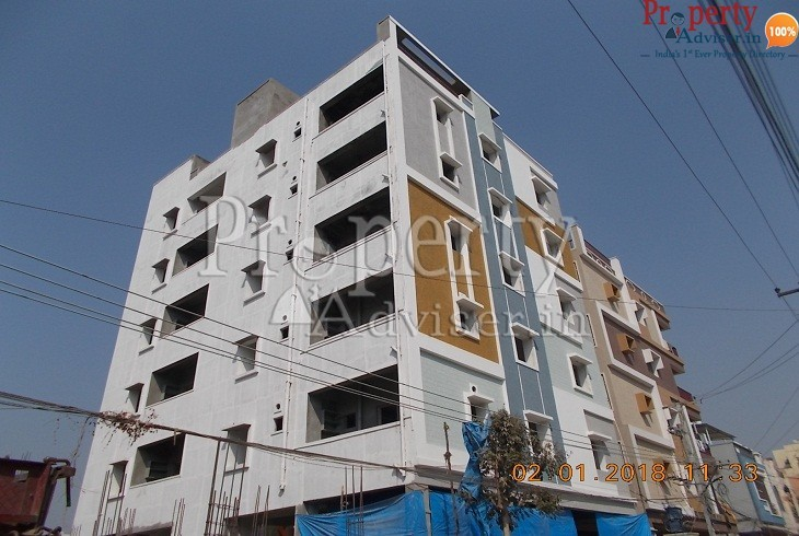 Apartment in Hyderabad Completed Painting work at Sambashiva Rao Residency