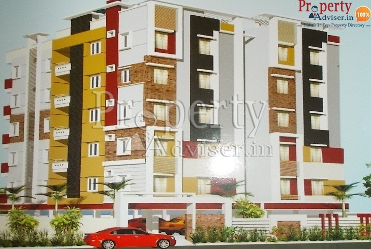 Painting work is completed at Sarah Heights in Borabanda Hyderabad