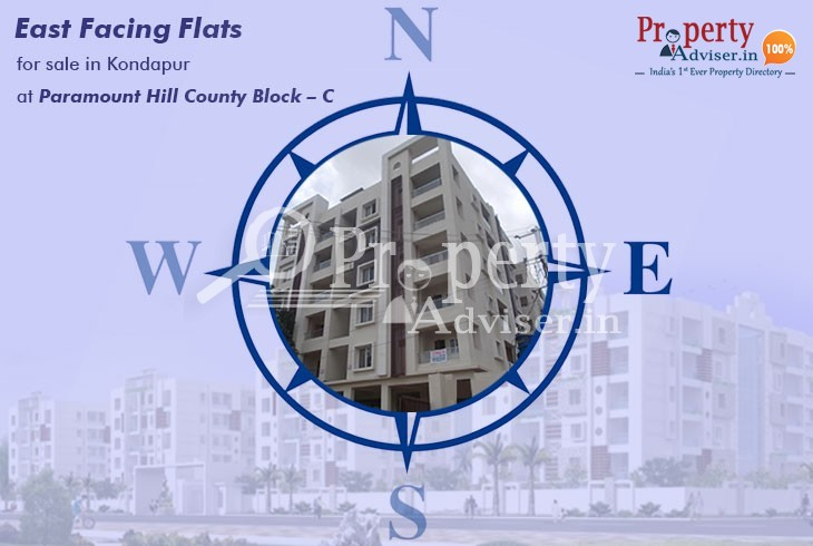 Paramount Hill County Block  C  flats for sale in Kondapur