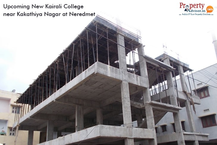 Upcoming New Kairali College near Kakathiya Nagar at Neredmet