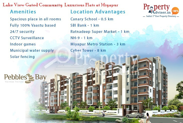 Buy a Flat in Pebbles Bay Apartment at Madinaguda to Lead a Cozy Lifestyle