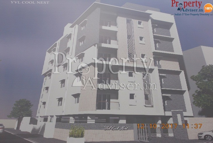 Plastering work is completed in YVL Cool Nest at Sanjeeva Reddy Nagar Hyderabad