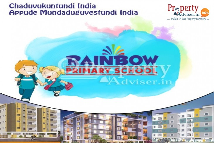 Rainbow Primary School Opening Shortly Near Apartments in Mithila Nagar, Pragathi Nagar