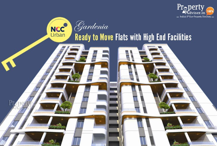 Ready to Move Flats at NCC Urban Gardenia with High-End Facilities