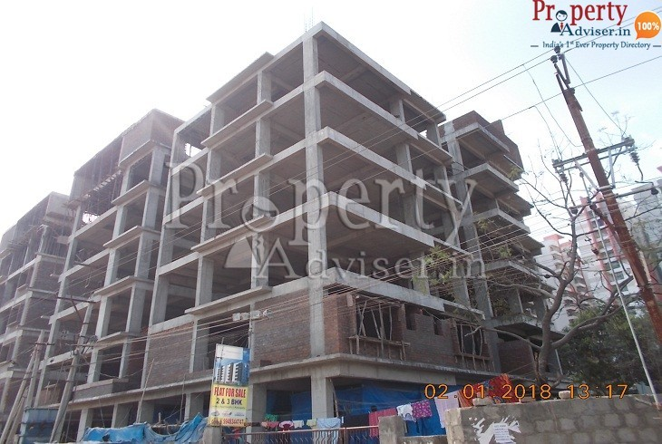 Residential apartment with more units for sale at Kukatpally Hyderabad KKR sunshine block A