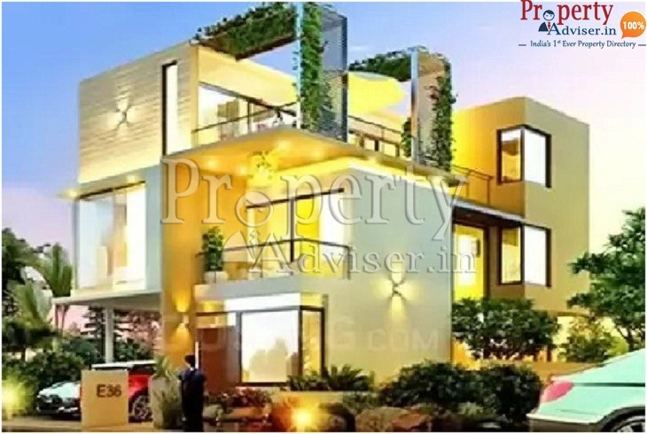 Residential villa for sale at Kompally with CC road completion