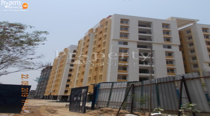 Ridge Towers Block E in Chinthal updated on 24-May-2019 with current status