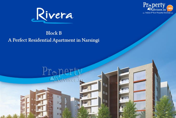 Rivera Block B - A Perfect Residential Apartment in Narsingi