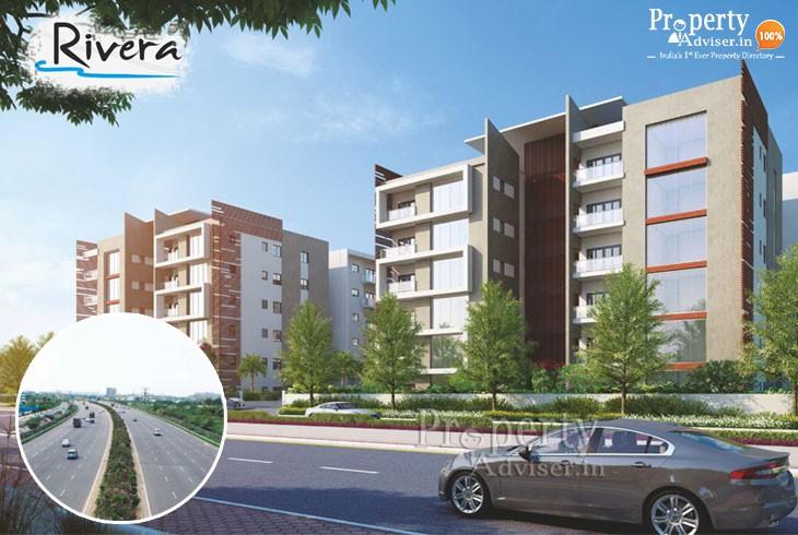 Rivera Block B HMDA Approved Apartments for Sale in Narsingi