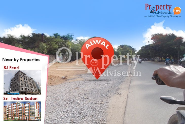 Road Extension Work Started Near Residential Properties at Alwal