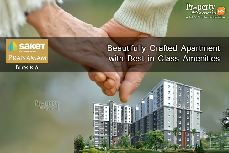 Saket Pranamam Block A - Beautifully Crafted Apartment with Best in Class Amenities