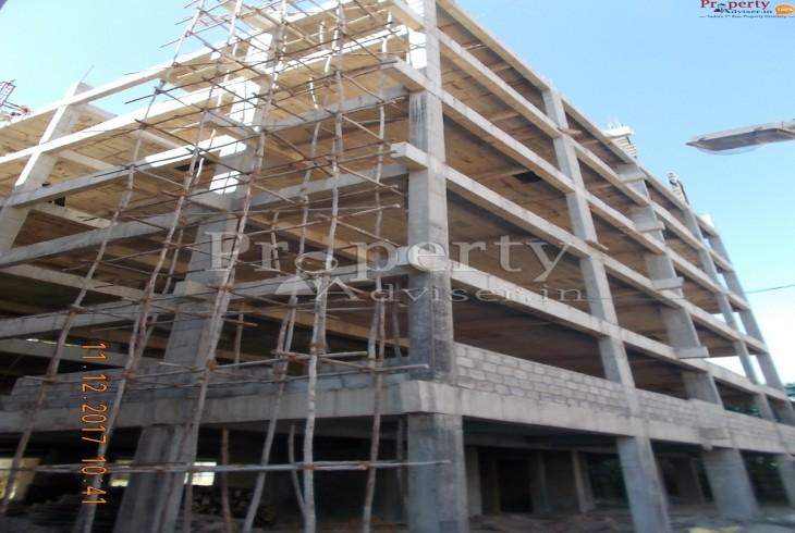Slab Work Completion for all floors at Vasathi Navya E-Block