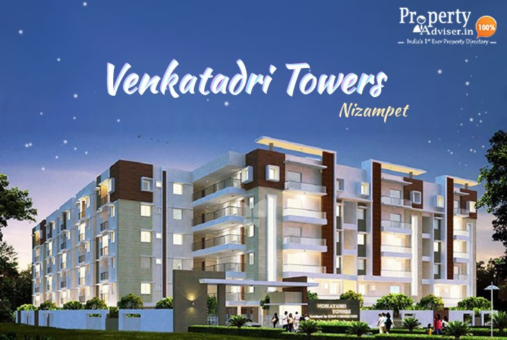 Gated Community Flats for Sale @ Venkatadri Towers