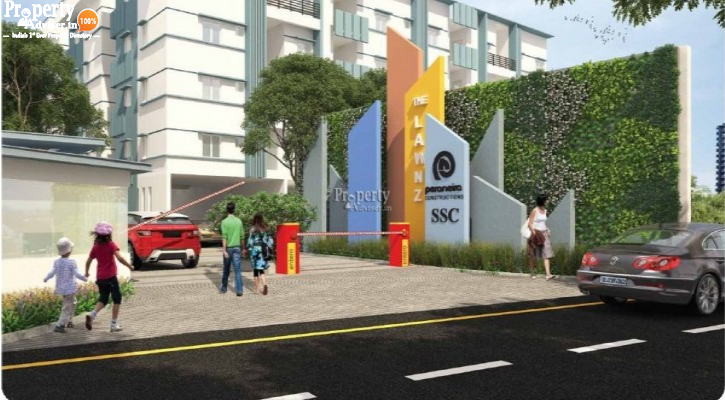 THE LAWNZ Block - F in Kokapet updated on 25-Apr-2019 with current status