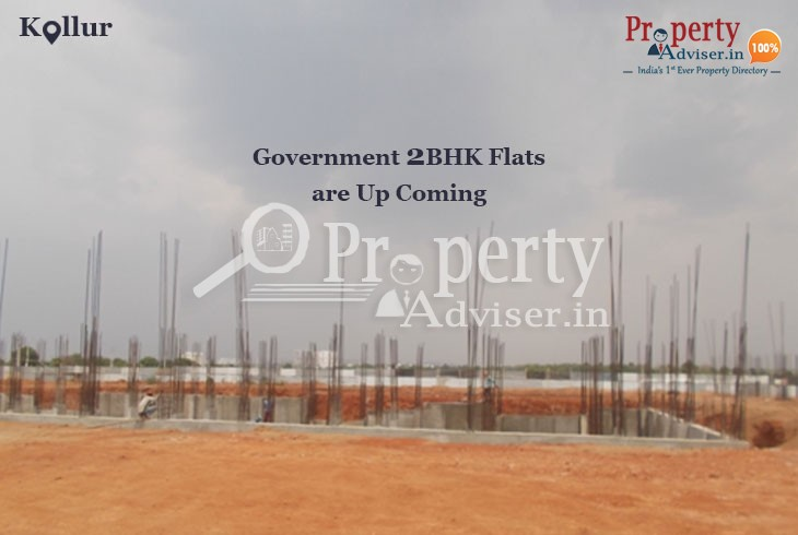 Upcoming Government Double Bedroom Flats at Kollur, Hyderabad