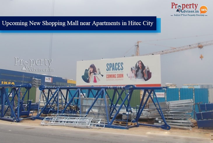 Upcoming New Shopping Mall In Hitec City, Hyderabad
