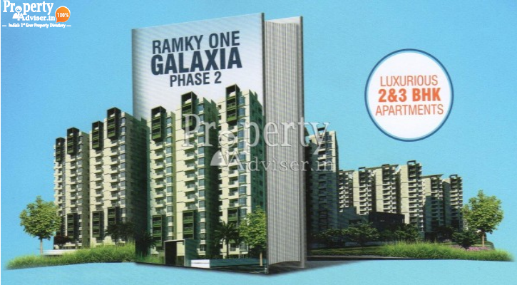 Latest update on Ramky one Galaxia Phase-2 Apartment on 09-Sep-2019