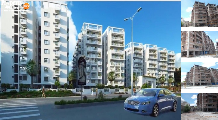 Vaishnavi Oasis Towers -F in Bandlaguda Jagir updated on 29-May-2019 with current status